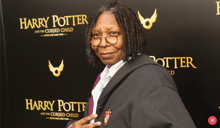 celebrità fan di Harry Potter Whoopi Goldberg ©Pinterest Bruce Glikas/FilmMagic